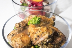 Personal Chef - meal prep-cornish hen