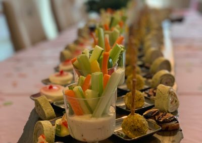 Canapes & Two Bite Appetizer Catering
