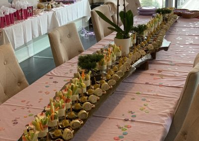 Baby shower reception catering