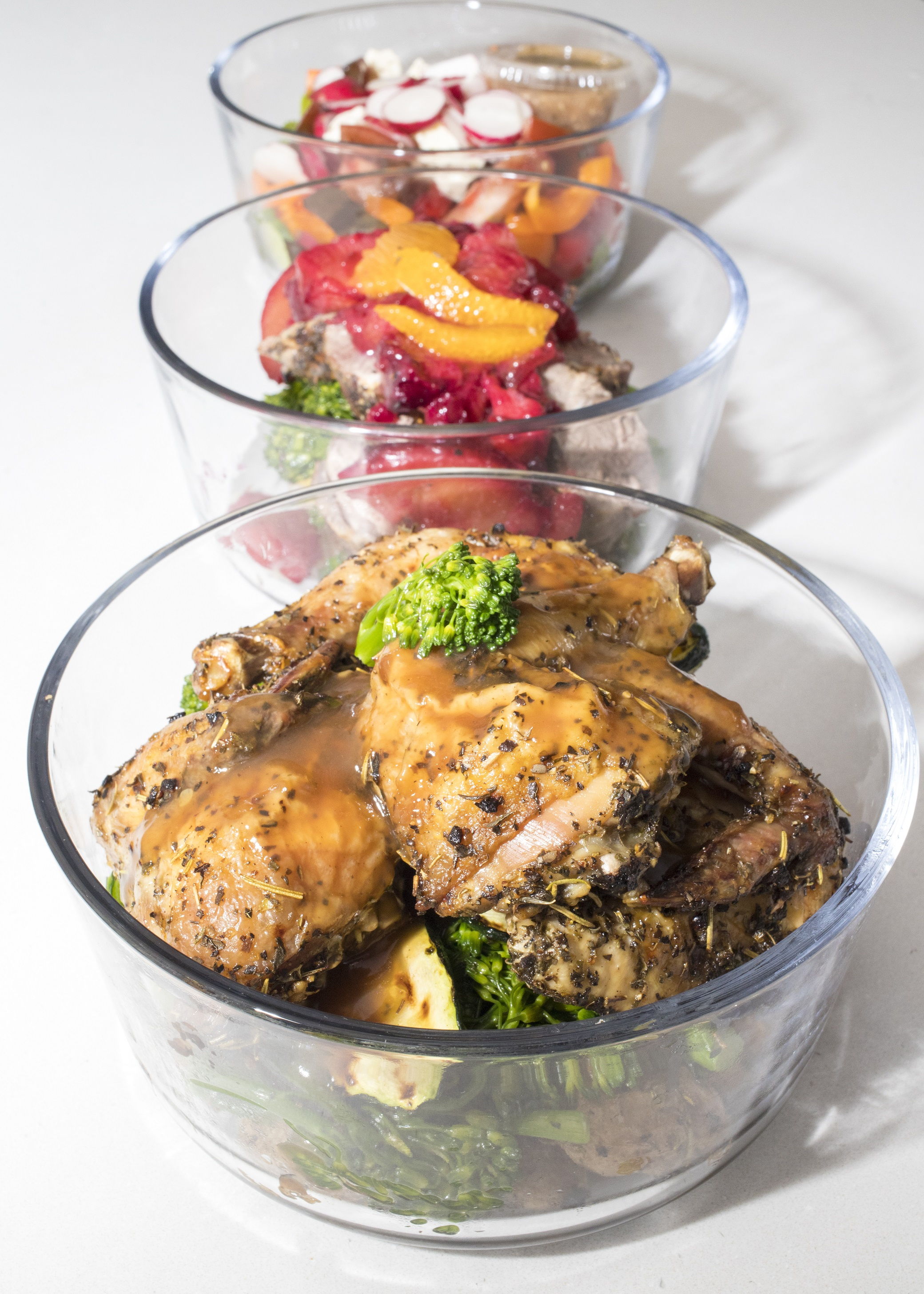 Personal Chef - meal prep-cornish hen