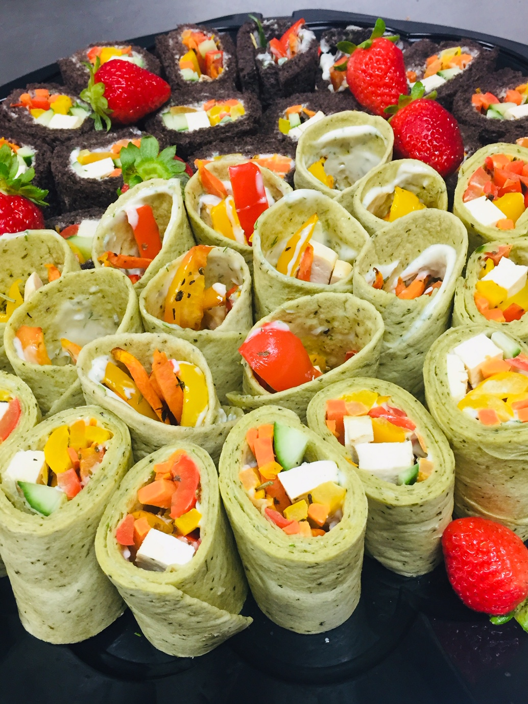 assorted-vegetarian-sandwiches-wraps
