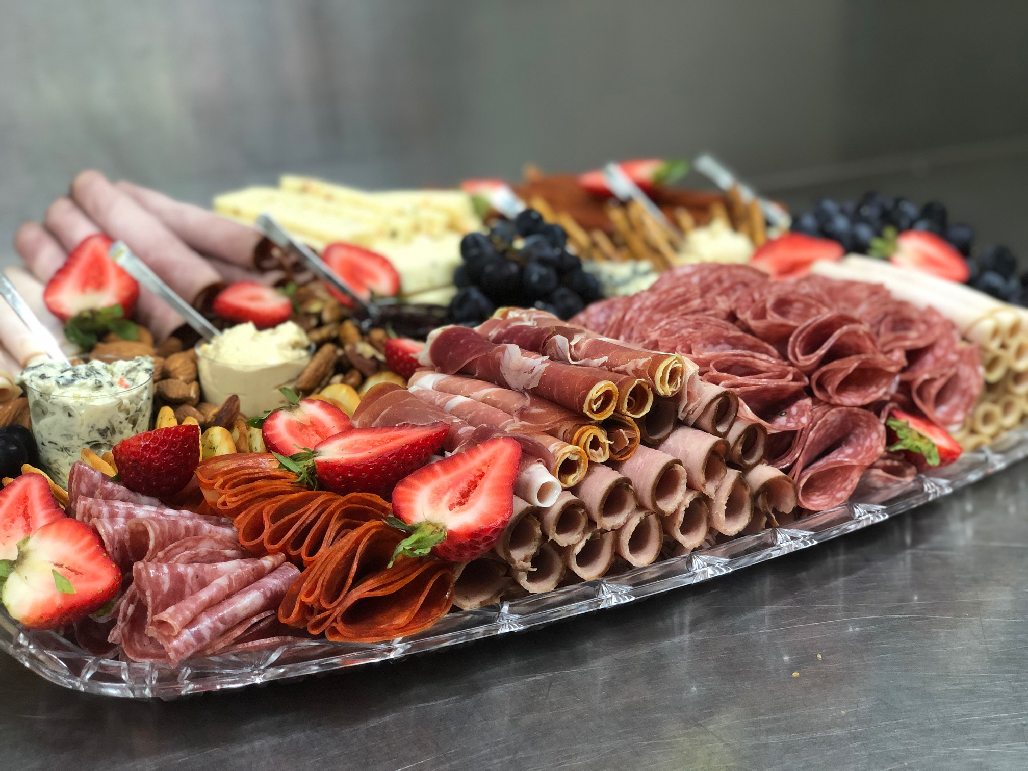 CHARCUTERIE PLATTER - Food stations catering in Mississauga