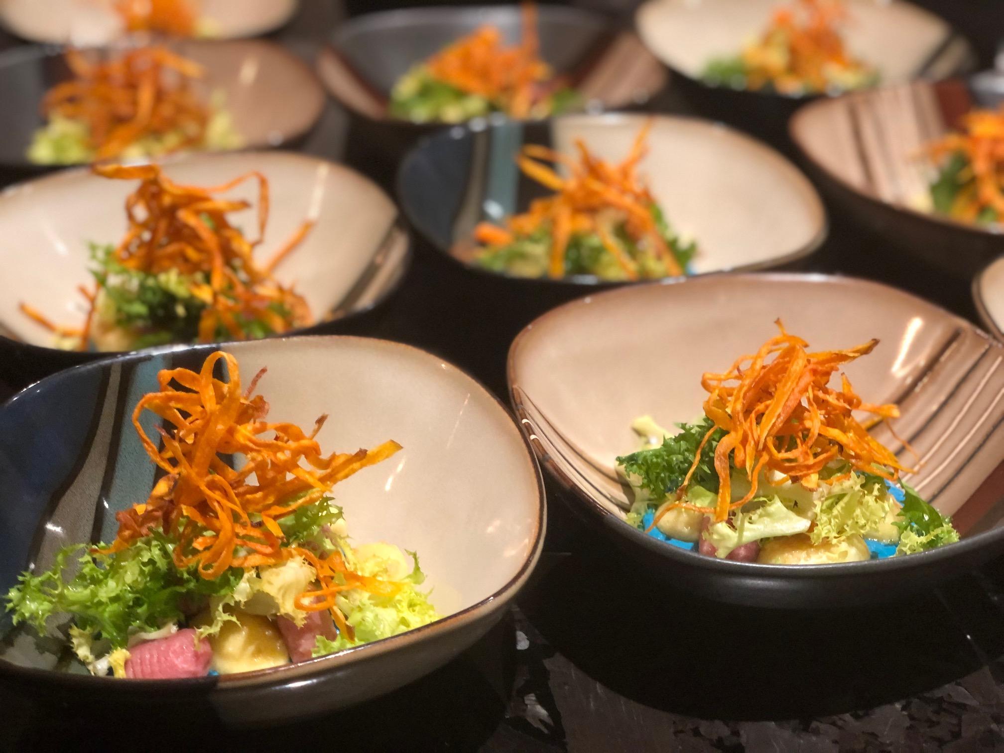 Pan seared potato gnocchi - Catering Service in Mississauga